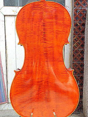Nice 4/4 size Cello full Hand made antique old style bright sound