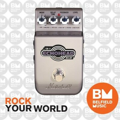 Marshall EH1 Echohead Delay Guitar Effects Pedal EH-1 FX Stomp Box