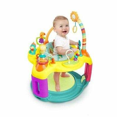 NEW Bright Starts Springin' Safari Bounce-a-Bout Activity Center, 12+ activities