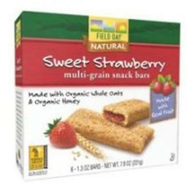 Cereal Bar Og3 Straw Fll 7.8 OZ (Pack of 6) • AUD 78.00