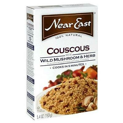 Near East Wild Mushroom Herb Couscous 5.4 Oz -Pack of 12