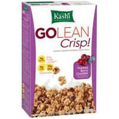 Kashi Go Lean Berry Crumble Crisp Cereal 14 Oz -Pack of 12