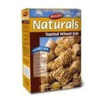 Moms Best Naturals Toasted Wheat-Fuls 24-Ounce -Pack of 12