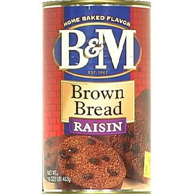 Brown Bread W/Raisin Can -Pack of 12