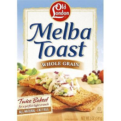 Melba Toast Whole Grn -Pack of 12