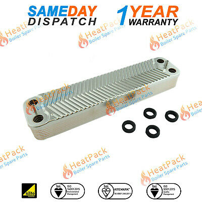 WORCESTER GREENSTAR 30 Si DOMESTIC HOT WATER 14p HEAT EXCHANGER 87161066850
