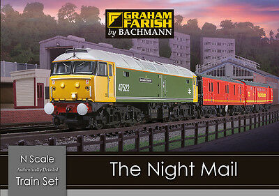 Graham Farish 370-130 The Night Mail Train Set N Gauge