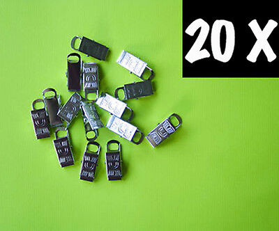 Metal Badge Clips Craft Dummy Clip Strap Pack of 20