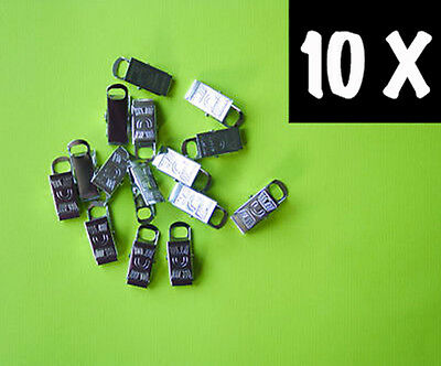 Metal Badge Clips Craft Dummy Clip Strap Sent 1st Class Pack of 10