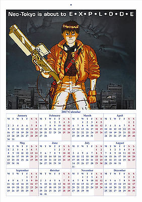 Akira - 2017 A4 CALENDAR **BUY ANY 1 AND GET 1 FREE OFFER**