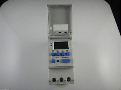 12/24/110/220V Digital LCD Programmable Timer 16A Time Control Relay Switch