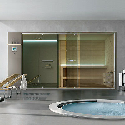 Hafro Ethos Series Hamman With Integrated Shower+Space Shower+Sauna 400X150Xh.21