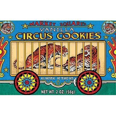 Circus Cookies Vanilla 2-Ounce (Pack of 12)