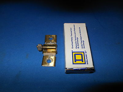 New In Box Square D Thermal Overload Heater Element Unit  B 10.2