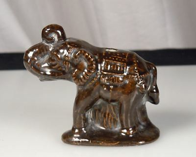 Chinese Ceramic Elephant Figurine Water Dropper