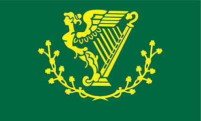 IRISH HARP IRELAND SONS OF ERiN 3X5 FLAG BIKIERS 3 x 5 banner FL#710 3X5 FLAGS