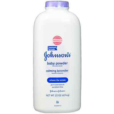 JOHNSON'S Baby Powder Calming Lavender 22 oz (Pack of 7)