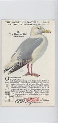 1930 1930s Coca-Cola World of Nature #11 The Herring Gull Non-Sports Card 1x2