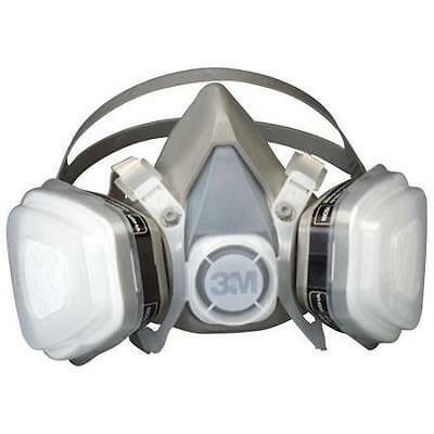 3M 07191 Dual Cartridge Respirator Assembly, Organic Vapor/P95, Small