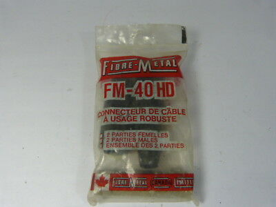Fibre-Metal FM-40HD Universal Design Cable ! NWB !
