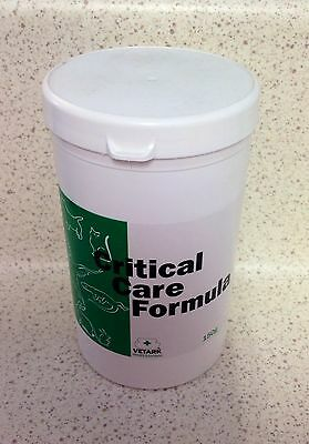 Critical care formula 150g for sick bird, rabbits, rodents, reptiles high energy