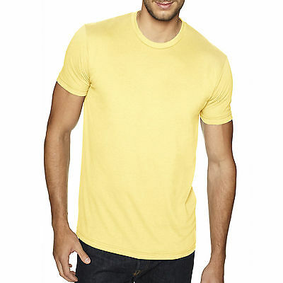 Next Level Apparel Men's Premium Fitted Sueded Crewneck T-Shirt