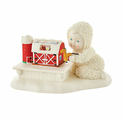 Dept 56 Snowbabies Guest Collection Fisher Price Barnyard Baby 4051848 RETIRED