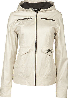 Fly Racing Waxed Ladies Jacket Ivory 2X
