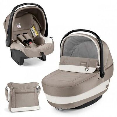 Peg Perego SET XL incl. Baby bath tub Navetta XL, Carry cot, Diaper bag 2016