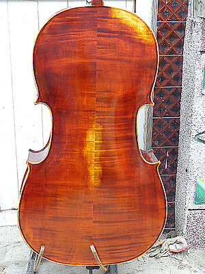 4/4 Cello full Hand made antique old style nice sound