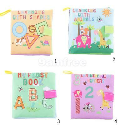 Colorful Picture Cloth Book for Baby Children Intelligence Development Toys