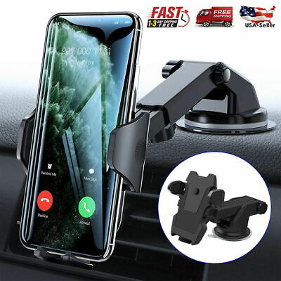 Universal Car 360 Rotate Windshield Dash Mount Holder Stand For iPhone 7 8 Plus