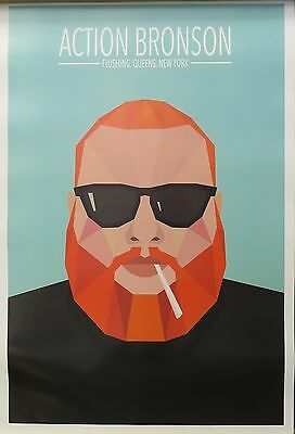 Action Bronson-Queens -Licensed POSTER-90cm x 60cm-Brand New