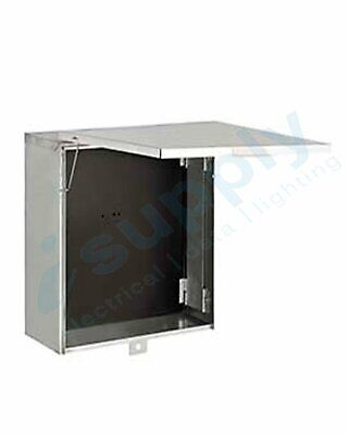 Meter Box + Panel - 300mm x 300mm x 270mm - Switchboard Metal