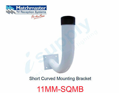 MATCHMASTER Antenna Short Curved Mounting Bracket  11MM-SQMB