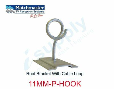 MATCHMASTER Antenna Roof Bracket With Cable Loop  11MM-P-HOOK