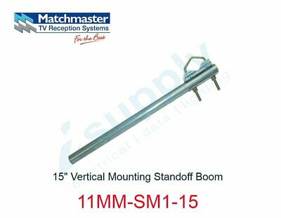 "MATCHMASTER Antenna 15"" Vertical Mounting Standoff Boom  11MM-SM1-15"