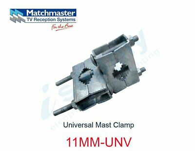 MATCHMASTER Antenna Universal Mast Clamp  11MM-UNV