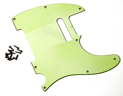 Aged 62 Vintage Pickguard Mint Green 3 Ply Montreux Retrovibe Fits To Tele