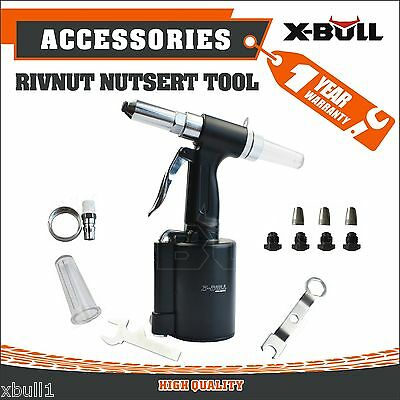 X-BULL Air Pop Rivet Hydraulic Rivet Nut Riveter Gun Tools Pneumatic Riveter