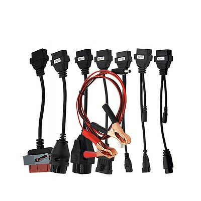 High Quality Full set 8 pieces car cables for TCS CDP Multidiag Pro OBD2 OBDII