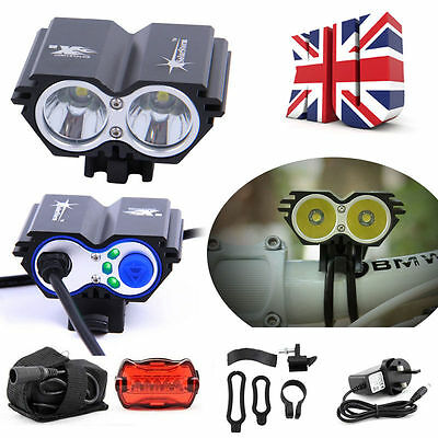 5000LM Cree XML T6 LED Bike Bicycle Light Headlight Headlamp Rechargeable Lamp
