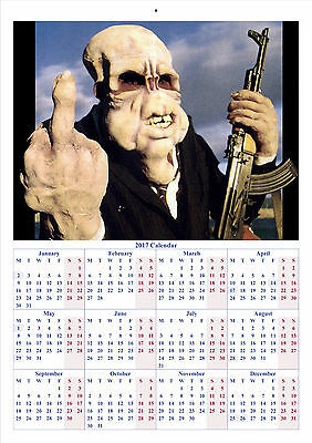 Bad Taste - 2017 A4 CALENDAR **BUY ANY 1 AND GET 1 FREE OFFER**