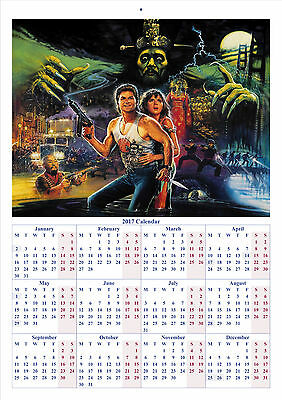Big Trouble in Little China - 2017 A4 CALENDAR *BUY ANY 1 AND GET 1 FREE OFFER*
