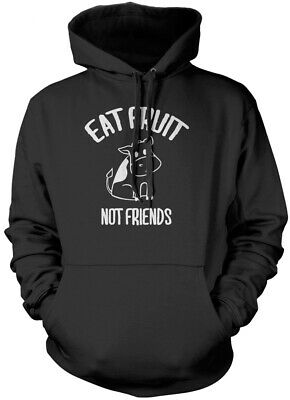 Eat Fruit Not Friends Animals - Vegan Vegetarian Gifts Kids Unisex Hoodie