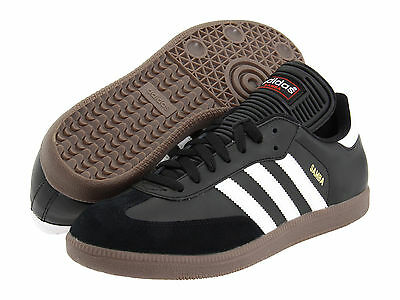 Adidas Samba Classic Black Athletic Lifestyle Casual Shoes 034563 Mens Sz 6.5-12