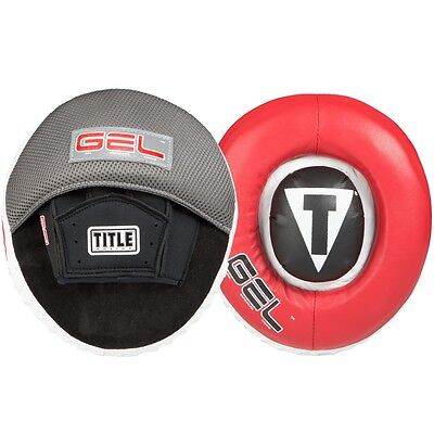 TITLE Boxing Gel Assault Target Punch Mitts