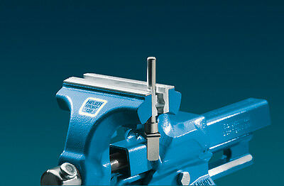 Heuer Forged Steel Bench Vise Magnetic Snap In Protective