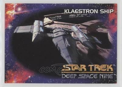 1993 SkyBox Star Trek Deep Space Nine #73 Klaestron Ship Non-Sports Card 1m8