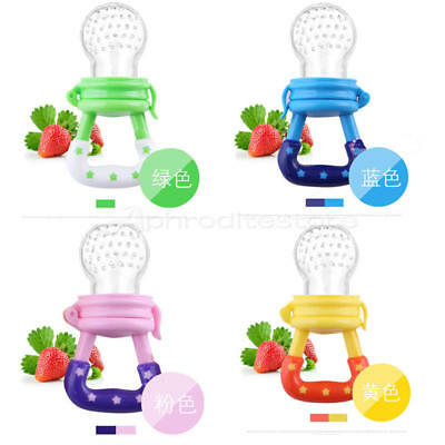 Safe Supplies Silicone Baby Feeder Feeding Fresh Food Fruit Juice Milk Shake